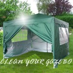 HOW TO CLEAN YOUR POP UP GAZEBO