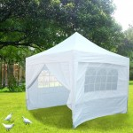 Pop Up Gazebos Construction