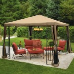 Get a Garden Gazebo for Your Summer Leisure Time