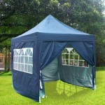 Why to Choose a Pop Up Gazebo With Sides