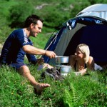 Have a Couple Camping With Your Spouse (I)