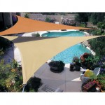 Shade Sails Make Your Garden Charming and Cool