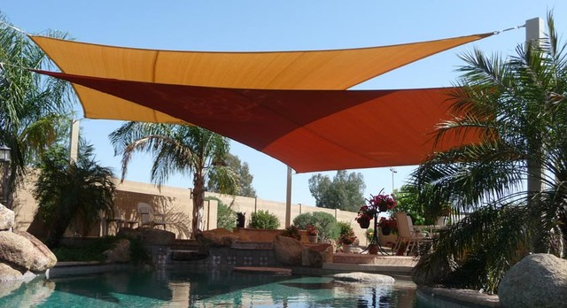 Sail shade the fantastic shelter of your outdoor space for Colorado shade sail