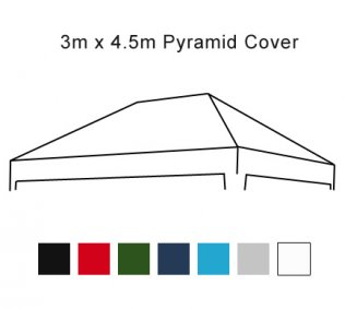 3m x 4.5m Pop Up Gazebo Replacement Cover