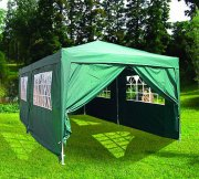 3m x 6m Heavy Duty Pop Up Gazebo - Green