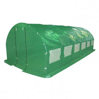 Galvanised Frame 3m x 6m Polytunnel Greenhouse