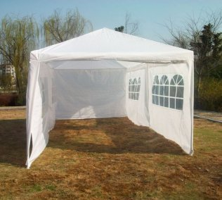 3m x 6m Small Marquee - White