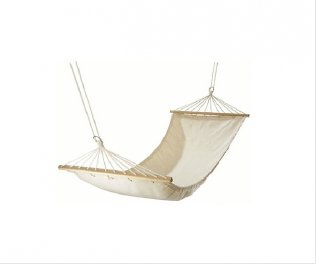 Ivory White Color Fabric Hammock