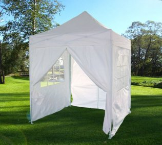 2m x 2m SolidCT Pop Up Canopy - White