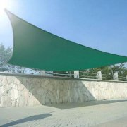 5m x 5m High Density Woven Square Shade Sails - Green