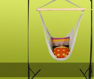 Hanging Cotton Rope Swing Hammock Chair