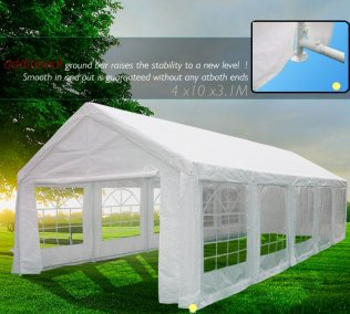 4m x 10m Heavy Duty Marquee