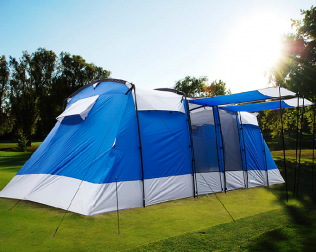 6-8 Persons Large Family Group Camping Tent Waterproof