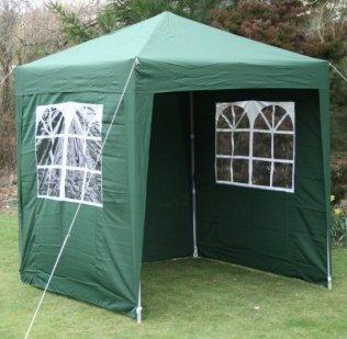 2m x 2m Waterproof Pop Up Gazebo - Green