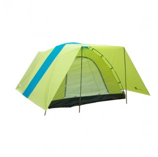 3 - 4 Man Camping Tent With Outer Shelter