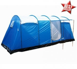 8 Man 5 Room Large Family Tent for Camping