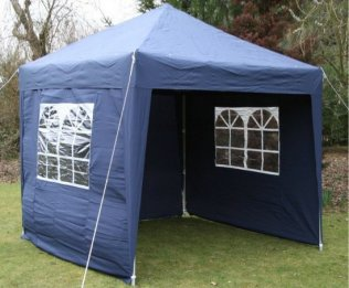 2.5m x 2.5m Waterproof Pop Up Gazebo - Blue