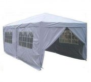 3m x 6m Anti-UV Pop Up Gazebo - Silvery