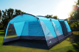 6-9 Persons Large Family Group Camping Tent With Groundsheet