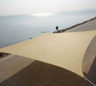 5m x 5m High Density Woven Shade Sails - Square