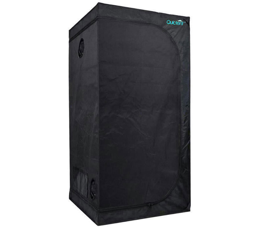 1m x 1m x 2m mylar coated hydroponic grow tent. Black Bedroom Furniture Sets. Home Design Ideas