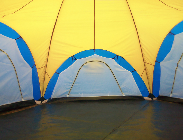 6 8 Man 4 Room Dome Family Camping Tents Quictent