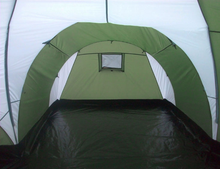 ... 8 Man 4 Room Dome Family C&ing Tent - Green ... & 8 Man 4 Room Dome Family Camping Tents - Quictents