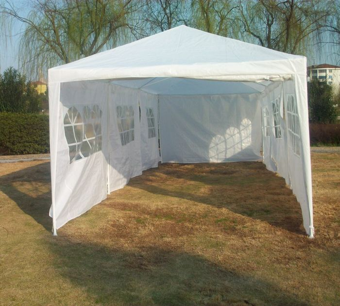 quictent peaktop reviews white garden marquee party