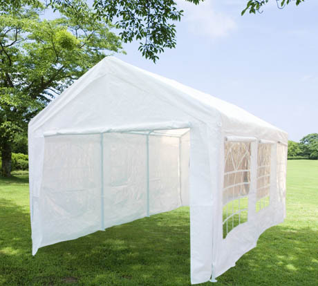 3m X 6m Marquee / Garage   Classic With Window ...