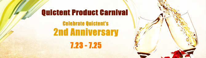 Quictent 2nd anniversary