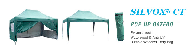 silverct pop up gazebo