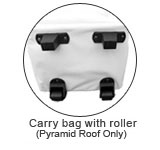 carry bag with roller