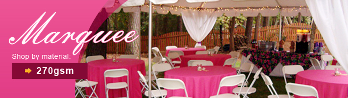 Quictent 270gsm wedding marquee party tent
