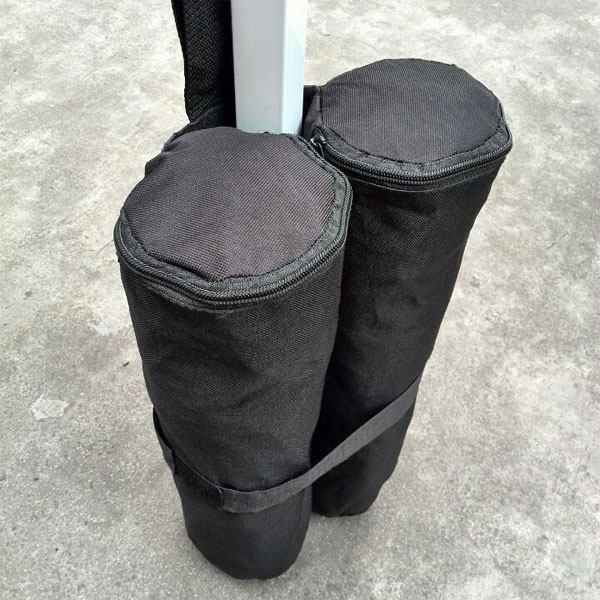 2 X Deluxe Sandbag Leg Weights For Gazebo